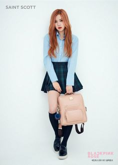 BLACKPINK's Rose #Fashion #Kpop #Idol