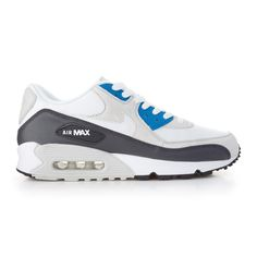 Another quality build of the Air Max 90 is on the way from Nike Sportswear. Air Max 90 Grey, Air Max Sneakers, Sneakers Nike, Blue Grey, Teal, Nike Kicks, Nike Free Shoes, Shoe Sale, Blue Shoes