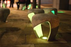 charlie davidson: sunniside public realm Yes. Urban Furniture, Street Furniture, Furniture Design, Furniture Nyc, Cheap Furniture, Lighting Concepts, Lighting Design, Lighting Ideas, Design D'espace Public
