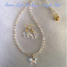 Angelic Stars Necklace - Astara Light Jewellery
