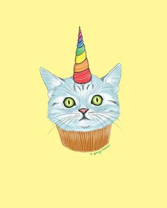 a birthday cat cake