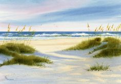 Afternoon Shadows fall across Wrightsville von maryellengolden, $40.00