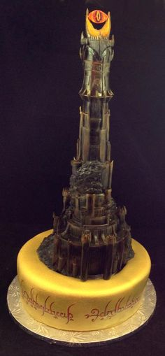 Eye of Sauron Cake.