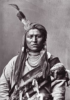 As one of the delegates from the Lemhi and Fort Hall agencies who signed the treaty of May 14, 1880, Uriewici, a Shoshone also known as Jack Tendoy, was photographed by Charles M. Bell in Washington, D.C. Ultimately, the Shoshone, Bannock and Lemhi would be moved to the Fort Hall area of Idaho.  – Courtesy Smithsonian Institution Bureau of American Ethnology –