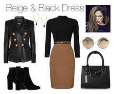 """""""Power Chic"""" by boutiquebrowser ❤ liked on Polyvore featuring Phase Eight, Isabel Marant, Dune, MANGO, Balmain and Jennifer Lopez"""