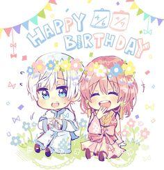 Akatsuki no Yona / Yona of the Dawn anime and manga || Happy birthday Yona and Kija! :D