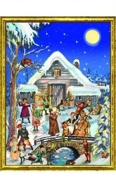 Sellmer Christmas Barn Advent Calendar >>> This is an Amazon Affiliate link. Learn more by visiting the image link.