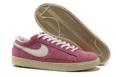 27616102009 2013 Femme Nike Blazer Low Suede Vintage Rose Blanc  K32t  Rose Vintage