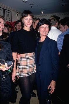 Christy Turlington en Burberry à New York en 1994