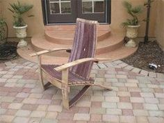 Wine Barrel Adirondack Chair (large Size) Woodworking Plans, One Hardware Kit…