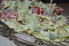 Chinakohl – Salat Chinese Cabbage Salad (recipe with picture) by Cabbage Salad Recipes, Fruit Recipes, Vegan Grilling, Grilling Recipes, Chinese Cabbage Salad, Vegetable Design, Best Pancake Recipe, High Fat Foods, Grilled Veggies