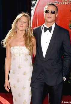 Jennifer Aniston Brad Pitt   Jennifer Aniston et Brad Pitt