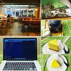 Tea and cake at Duke Rabbit. #taipei #digitalnomad #travel #remotework #workhardanywhere #coffice #workandtravel #workanywhere #wha #nomad