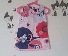 Check out this item in my Etsy shop https://www.etsy.com/fr/listing/270636186/robe-de-coton-imprime-minnie-fait-a-main