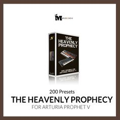 The Heavenly Prophecy presents 200 extraordinary sounds for your Arturia Prophet V. This soundset takes the Prophet 5 and the Prophet VS to new extremes.