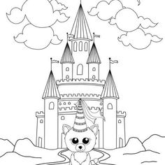 Halloween Coloring Page Beanie Boos Free Printables Pinterest