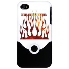 Firefighter Tribal Flames iPhone Case