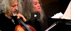 Grieg - Cello and piano sonata in A-minor, 1st movement- Mischa Maisky, Martha Argerich - Edvard Grieg composed the Cello Sonata in A minor, Op. 36, his largest chamber work, in 1882. The piece was dedicated to his brother, John, a keen amateur cellist.