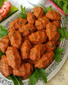 Turkish Recipes, Ethnic Recipes, Iftar, Tandoori Chicken, Bon Appetit, Salads, Food And Drink, Appetizers, Cooking Recipes