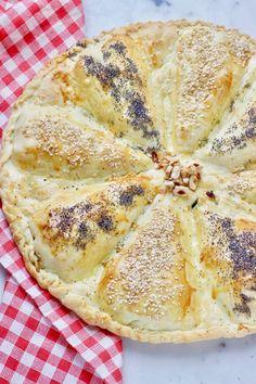 Torta salata a spicchi con zucchine e formaggio | Tempodicottura.it