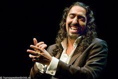 Flamenco legend Diego el Cigala in Paradiso foto Hans Speekenbrink. Must have Flamenco!!
