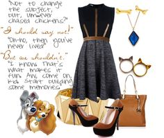 """""""Lady and the Tramp"""" by pandacat on Polyvore"""