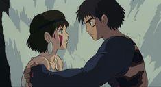 Studio Ghibli Art, Studio Ghibli Movies, Princess Mononoke Wallpaper, Animated Man, Studio Ghibli Characters, Japon Illustration, Cute Anime Profile Pictures, Nerd Love, Animation