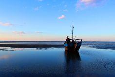 Barco, Pôr Do Sol, Mar, Paisagem