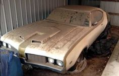 Hurst Oldsmobile - Barn Find - Classic Cars - Olds Hot Rod