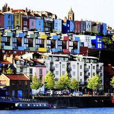 Bristol Harbourside and Cliftonwood