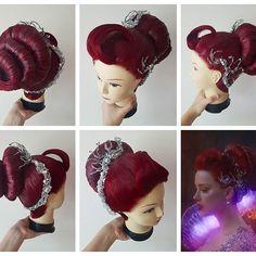Aquaman Cosplay, Dc Cosplay, Cosplay Wigs, Medusa, Wig Styling, Coloured Hair, Deep Sea, Marvel Cinematic Universe, Jellyfish