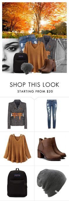 """""""Theme: Sweater Weather"""" by thefashiontheme ❤ liked on Polyvore featuring Tom Ford, Tommy Hilfiger, WithChic, Clarks, JanSport, Coal, tftbacktoschool, tftfalllooks, tftseasons and tftsweaterweather"""