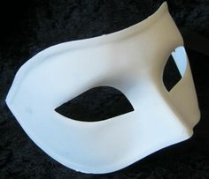Plain Venetian Masks To Decorate Blank Mask To Decorate  Luna  Mash Up Project  Pinterest