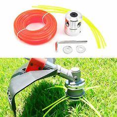 Garden Line Head Alu Double Trimmer Head Bobbin Set for Brushcutter w/ 20m Cord #deals #discounts Garden Line, Linnet, Gardening Supplies, Schneider, Gras, Header, Home And Garden, Patio, Weed
