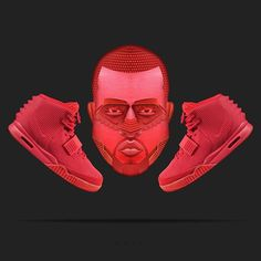 "AIR YEEZY "" Red October"" by @nike 