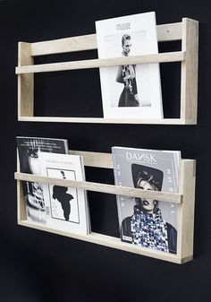 foxy vega magazine wall rack