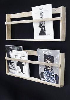 foxy vega magazine wall rack