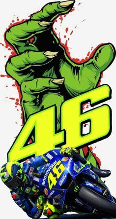 Valentino Rossi Logo, Motogp Valentino Rossi, Ghost Rider Wallpaper, Motorcross Bike, Bike Drawing, Yamaha Motorcycles, Vr46, Summer Wallpaper, Photo Logo