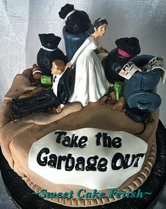 Divorce Cake #Divorce #cake Divorce Party, Divorce Cakes, Cakes Today, Croquembouche, Unique Cakes, Fancy Cakes, Cake Creations, Celebration Cakes, Cake Art