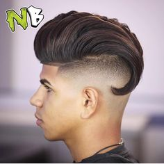 The undercut fade is very similar to a high fade haircut,The undercut is a hairstyle that was fashionable from the to the predominantly among men, and saw a steadily growing revival in the before becoming fully fashionable again in the Undercut Fade Hairstyle, Undercut Men, Undercut Hairstyles, Pretty Hairstyles, Easy Hairstyles, Men's Hairstyle, Fondue, Comb Over Fade, High Fade Haircut