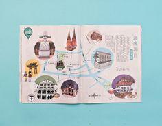 다음 @Behance 프로젝트 확인: \u201cIllustrated map of Shanghai (Xujiahui)\u201d https://www.behance.net/gallery/15787781/Illustrated-map-of-Shanghai-(Xujiahui)