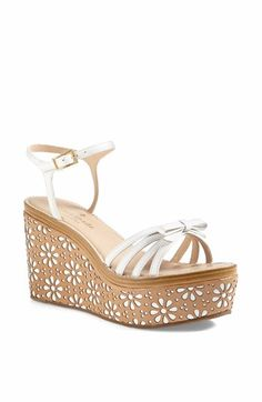 kate spade new york 'titi' wedge sandal available at #Nordstrom