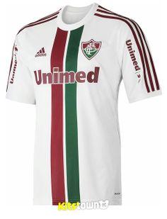 camisetas de Copa del Mundo fútbol baratas Fluminense temporada 2014 de distancia jerseyFluminense 2014 temporada ausente Jersey