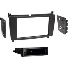 Metra - Dash Kit for Select 2005-2009 Mercedes CLK Vehicles - Matte black