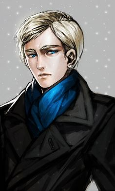 Erwin Smith. He's dressed like Sherlock...