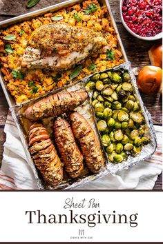 Sheet Pan Thanksgiving