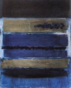 No. 5, Blue, 1949 by #MarkRothko. #Rothko #blue #untitled #1949