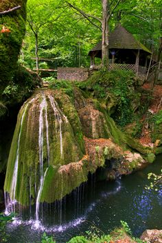 Bigăr waterfall, Bozovici, Caraș-Severin county, Romania