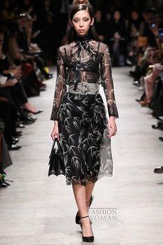 Шифоновое платье - модный хит осени фото №10