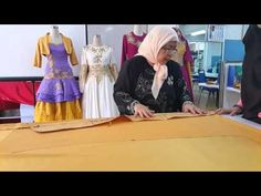 Teknik Membuat Pola Baju Kebaya Tradisional - YouTube